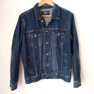 Lucky Brand Dark Wash Denim Jacket